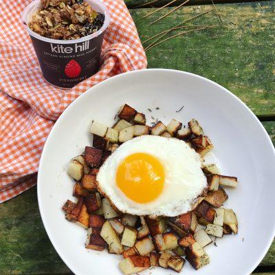 Potato breakfast bowls