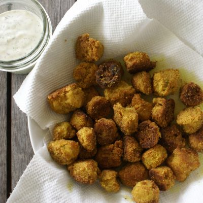 Paleo fried okra